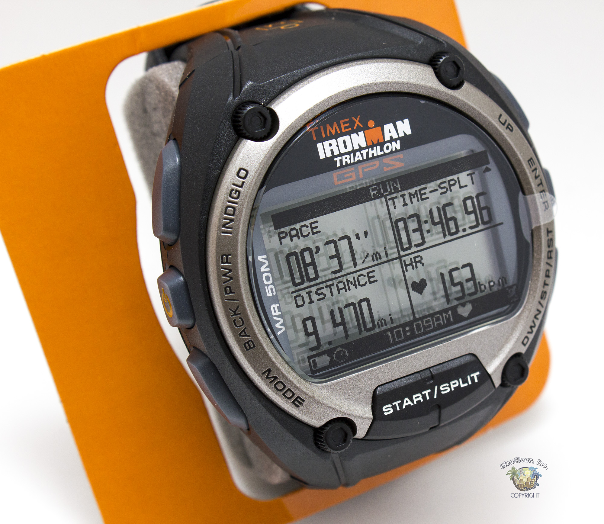 Timex ironman t5k444 gps wrist watch with heart rate monitor iseaclear inc for Watches with gps