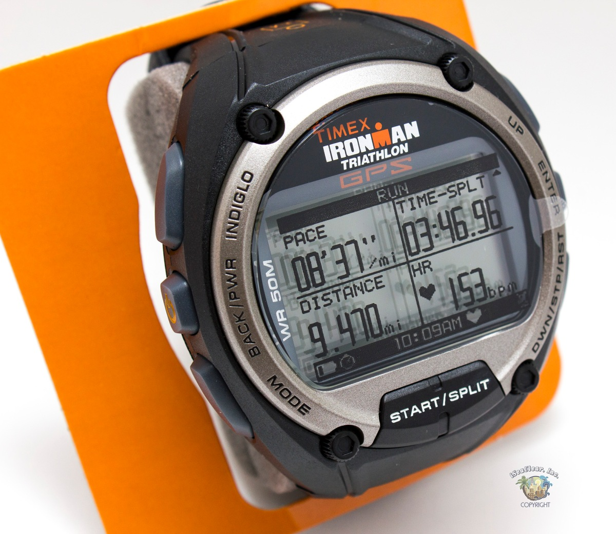 Timex Ironman Triathalon GPS Watch T5K444 7 | iSeaClear, Inc.
